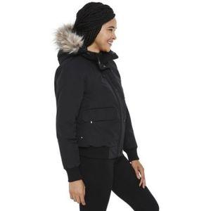 Canadiana Hooded Bomber Jacket